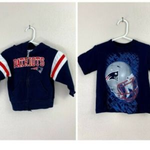 Other - New England Patriots Hoodie w/ T-Shirt
